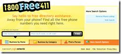 Free 411 (Ad-Based)