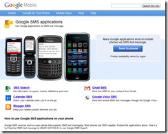 Google SMS Applications