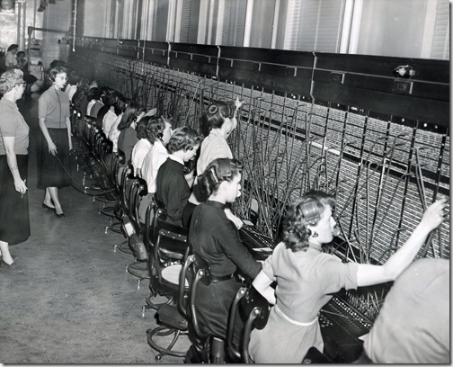 Telephone Switchboard Operators (1957)